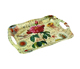 Melamine Tray With Handle/Reusable Eco- Friendly Plastic Serving Tay