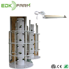 2018 ETL lamp farm equipment indoor vertical hydroponic tower nutrients systems T5 EDL LED grow light