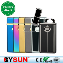 BS-907 Multi color single arc pulse usb electric lighter