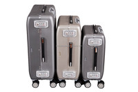 2015 new products aluminum travel case luggage bags trolley case