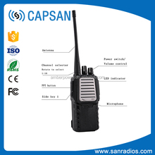 fm transmitter radio walkie talkie 30km range vhf uhf scrambler for radio station