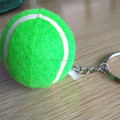 wholesale promotion keychains with tennis balls sale with price