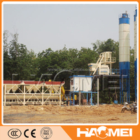 China professional manufacturer new product station type dry mix concrete batch plant price
