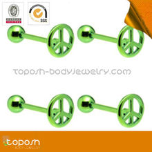 green peace unique industrial barbell