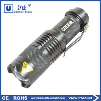 S17 ningbo manufacture mechanical zoom small torch light