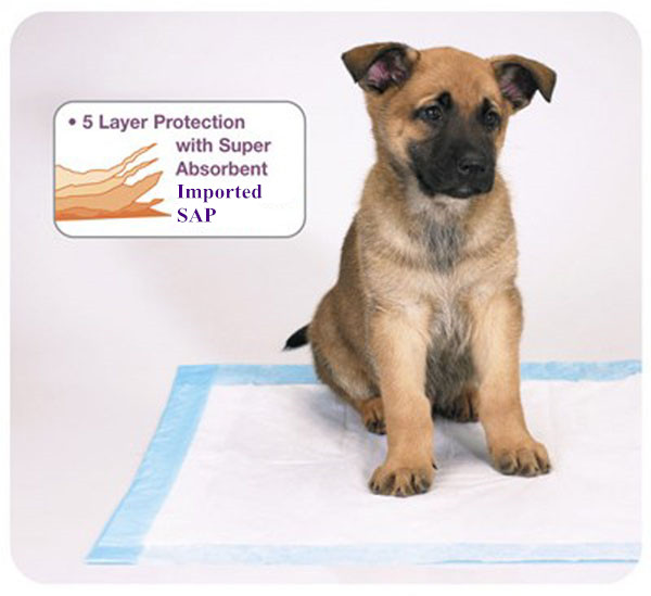 Puppy training pad/High quality super absorbent puppy training pads/Wholesale disposable underpads