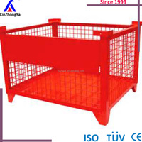 Wire Mesh Cage Foldable Wire Mesh Bulk Containers Made In China