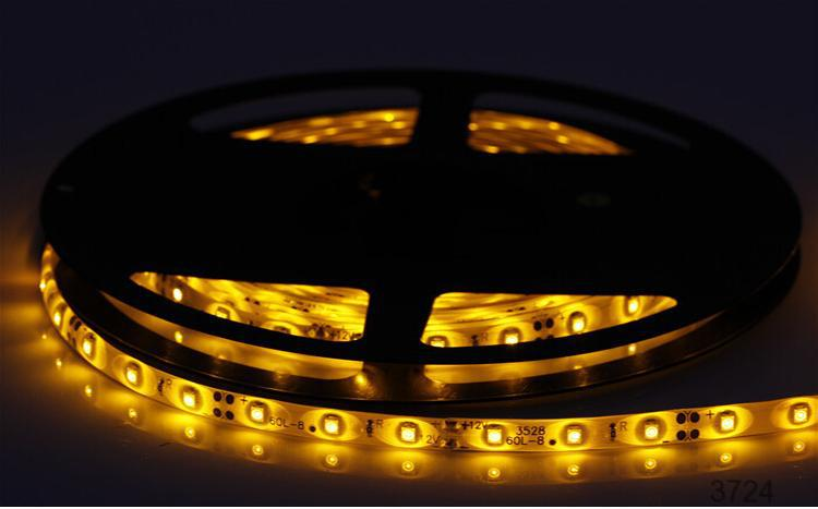 Underwater lighting 5050smd good quality 12v uv led strip light IP68 3 chips 5050 led smd strip