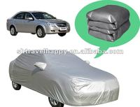 PEVA and PP Cotton Material Slivery Folding Car Cover For Buick exccle
