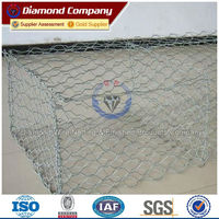 Best Price Hexagonal Neting Fence Construction Gabion Stone Basket Golden Suppliers