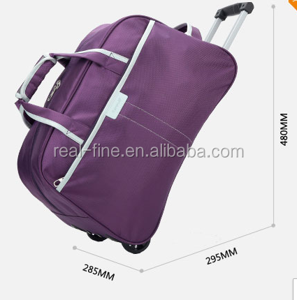 Women or men travel bag trolley bag quality luggage with several colors for choice