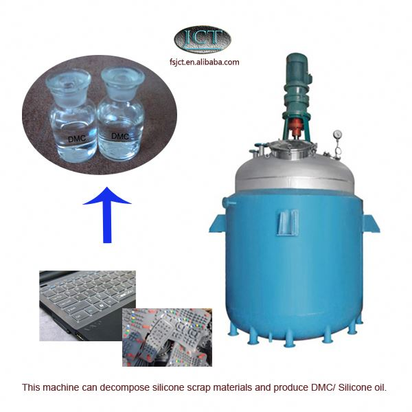 machine for Pyrolysising rtv-2 liquid silicone rubber