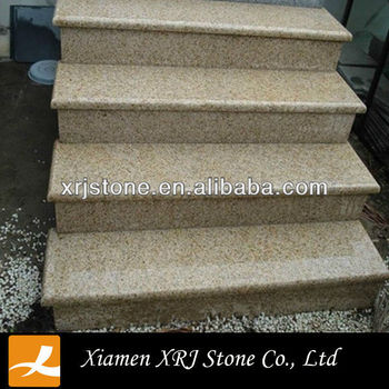 G682 Yellow Granite Outdoor Step Covering