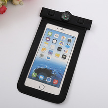 Transparent PVC swimming waterproof mobile phone bag