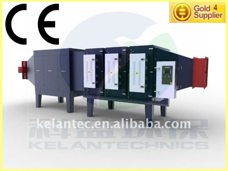 Industrial Oil Smoke Collector for Dyeing and Finishing