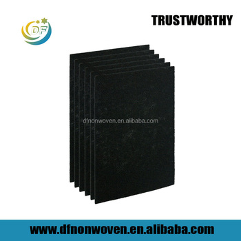 Filter mesh fiber felt activated carbon filter for air conditioner manufacturer from china