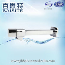 Factory durable water tap wholesale polished abs square wall mounted faucet