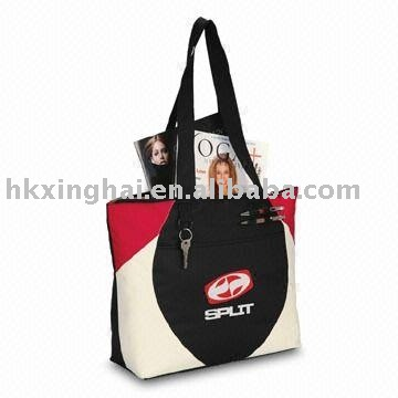 Polyester shopping tote,Promotional tote