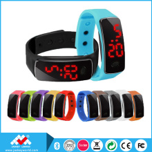 Fashion Womens Mens Rubber LED Watch Date Sports Bracelet Digital Wrist Watch