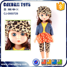 14 inch hollow body silicone doll for children