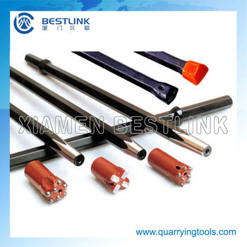 Quarrying Rock Drill Stainless Tapered Steel Rod