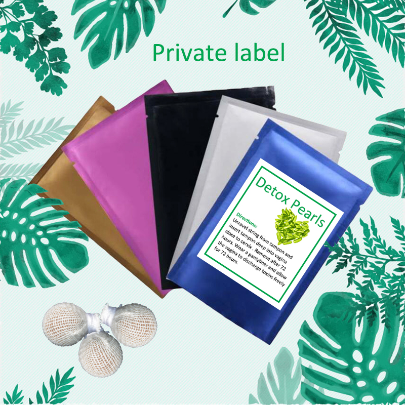 Wholesale Private Label Original Yoni Detox Pearls CE Certificates