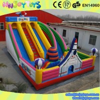 Hnjoytoys Giant inflatable playground, circus playland