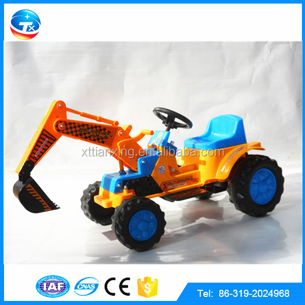 New Fashion PASSED ISO9001:2000 Manufacturer Electric Toy Cars for Kids to Drive Toy Excavator Model For Children