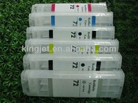 With ARC chips!! 6 Colors Compatible Refillable HP T610 Ink Cartridge