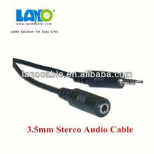 From professional supplier 4-pole 3.5mm male to female audio extension cable with 12 month warranty