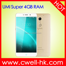 Original UMI Super 5.5 Inch FHD LTPS Touch Screen 4G LTE 4gb ram cell phone smartphone MT6755 Octa Core Built-in NFC