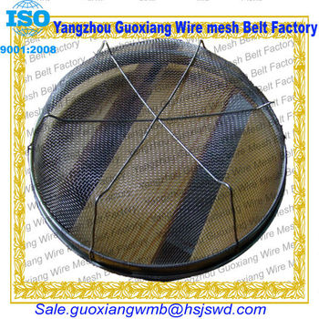 round Metal or steel frame or case gabion basket made in china