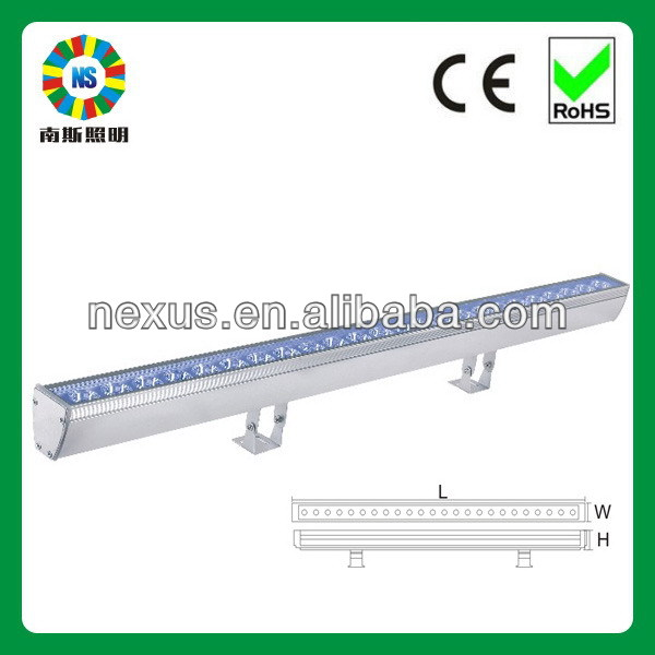Super quality custom outdoor linear led wall washers