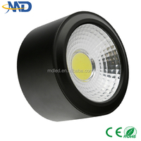5W COB led downlight 90-277V 3 years warranty Surface Mounted led ceiling down light 5w cob zhongshan guzhen led down light