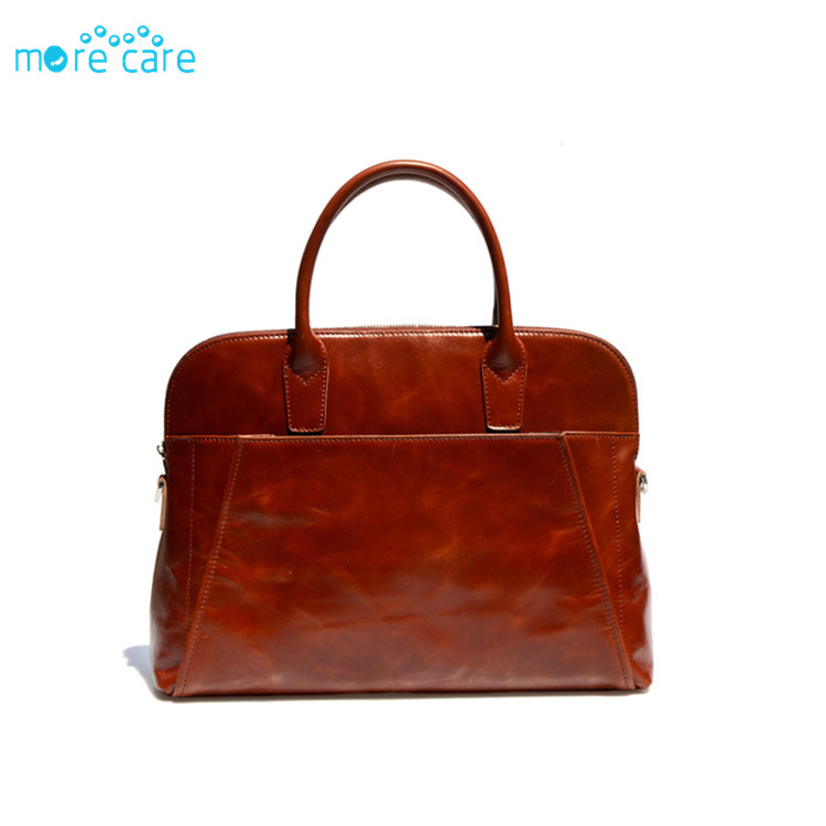 15 inch genuine leather computer laptop bag men