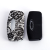 New free standing or flower pattern fashion Cheap smooth free standing car plastic key covers