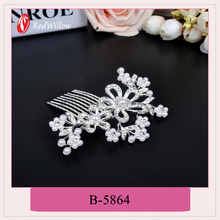 Wholesale china merchandise hair comb flowers