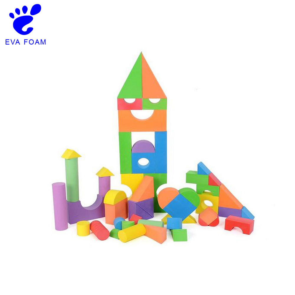 China manufacturer big soft eva foam building blocks toy for children