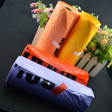 Factory Price colorful product pouch colorful plastic trash bags