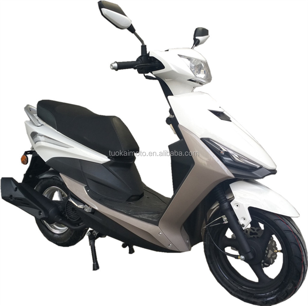 "Cheap 10"" alloy rims EEC4 50cc EFI motor scooter (TKM50E-13B)"