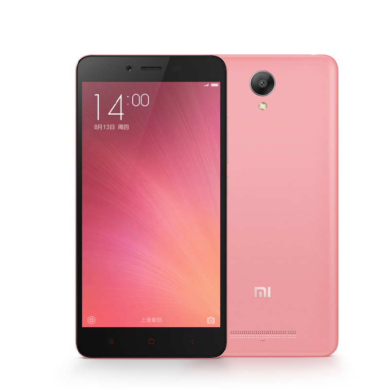 Malaysia Price Xiaomi Redmi Note 2 Red Mi Note2 Cheap Unlocked 4G Cell 2GB RAM 16GB ROM Android 5.0 13MP Mobile Phone