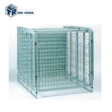 China Storage Steel Box Pallets Stacking Containers