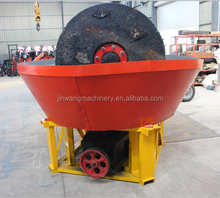low investment Two Rollers Wet Pan Mill for Sudan gold mining pan mill plant