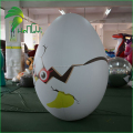 Beautiful Decoration Inflatable Dinosaur Eggs / PVC Event Air Blowed Easter Egg Inflatable