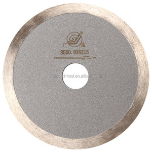 Guangzhou 85mm fast cutting saw blade for glass