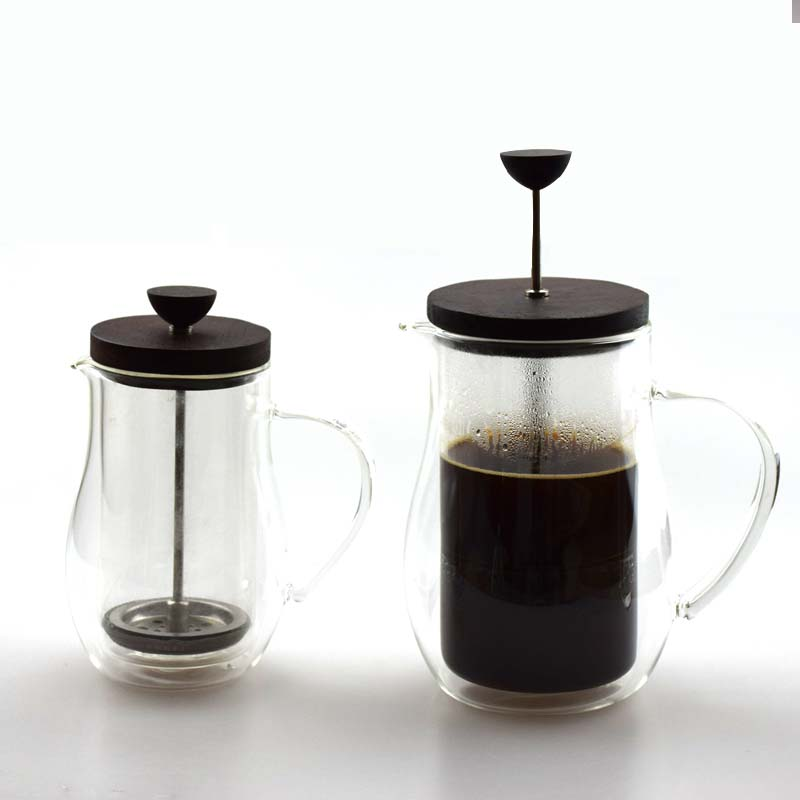 High Quality Glass Coffee Plunger Coffee Maker French Press Coffee Tea Pot On Sale