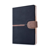 New Arrival Buckle Suede Leather Case Smart Stand case For Ipad air 2 Ipad 6