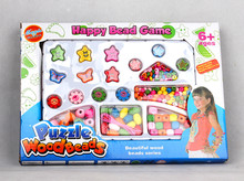 kids beautiful beads series toy, diy toys