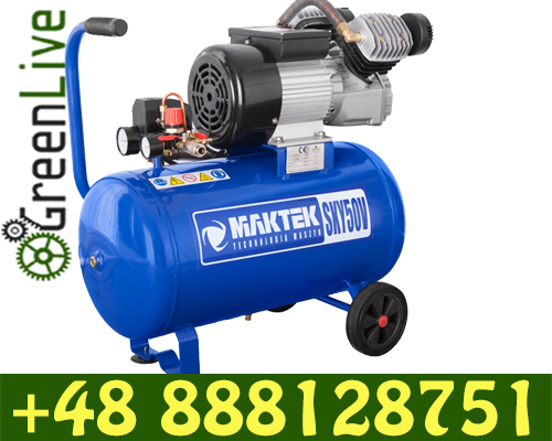 2 piston direct driven air compressor 50L 8bar 220l/min in POLAND
