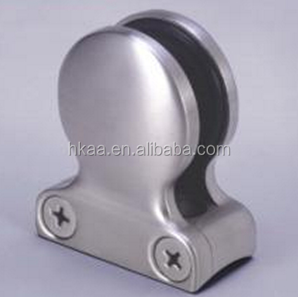 custom aluminum glass table clip,glass holding clip manufacturer